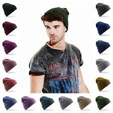 Beanie Hat Skater Snowboarding Retro Vintage Hat Winter Mens Womens 16 Colours