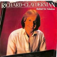 "Richard Clayderman - Ballad For Adeline - 7"" Record Single"