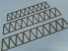 Model Railway Layout Laser Cut Braced Girder Bridge 2 Sides 3mm MDF Various