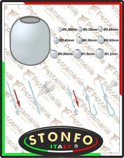 Perline Stonfo in plastica con foro calibrato art.519 perlina