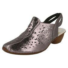Ladies Rieker Slingback Heeled Shoes '43769'