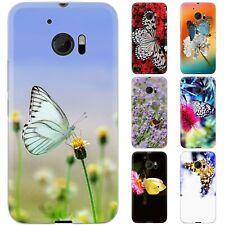 dessana Schmetterlinge TPU Silikon Schutz Hülle Case Handy Tasche Cover für HTC