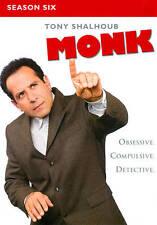 Monk - Season 6 (DVD, 2012, 4-Disc Set)