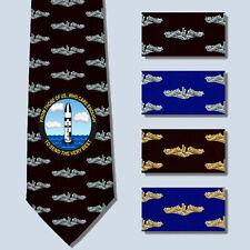 Send the Very Best Polaris Missile Submarine Force Necktie Tie SS SSN SSBN