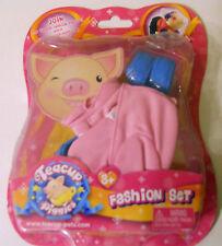 NEW Pig Teacup Piggies Fashion Outfit Set Clothes Pink Blue Shoes