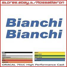 KIT 2 ADESIVI BIANCHI mm.300x45 - BIKE STICKERS AUFKLEBER PEGATINAS DECALS