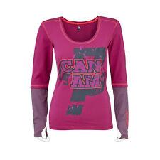 CAN-AM T-shirt à manches longues couleur violet femmes ATV Quad Tshirt T-Shirt