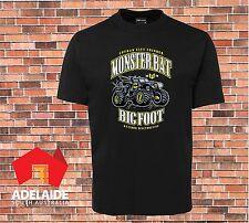 JB's Cool Retro T-shirt Monster Truck Gotham City  Batman Funny New Design
