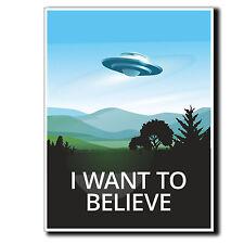 2 x Glossy Vinyl Stickers - UFO Alien X-Files Area 51 iPad Laptop Decal #4057