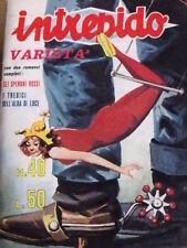 Intrepido varietà - n°40 1963 - con inserto 200 All'Ora Nuova ALfa Giulia Sprint