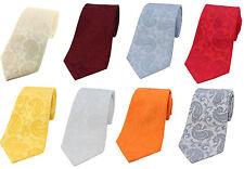 Tonal Paisley Silk Ties