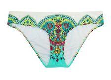 Apt 9 White Floral Printed Hipster Bikini Bottoms Swimsuit Women's XL