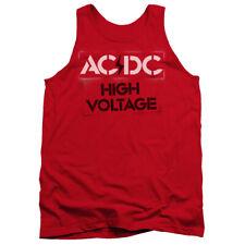 "AC/DC ""High Voltage Stencil"" Men's Adult or Girl's Junior Tank"