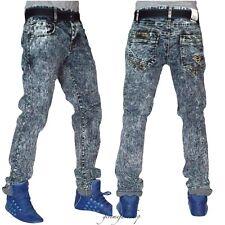 Mens slim fit blue stripe jungle g jeans, urban skinny star denim beached pants