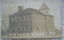 1907 HEDRICK HIGH SCHOOL POSTCARD