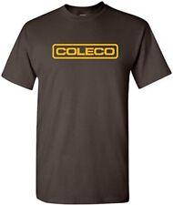COLECO T-shirt RETRO Video Game Shirt COOL 80s GEEK TEE