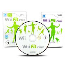 Nintendo Wii Spiel Wii FIT PLUS ohne Balance Board in OVP mit Anleitung