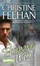 Burning Wild (Leopard), Christine Feehan, Good Condition, Book