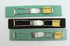Expandro  60er, 70er Uhrenarmband Edelstahlband 22mm 3 Länge Made in W.-Germany