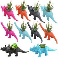 Brachiosaurus/Triceratops Shape Planter Container Gardening Succulent Plant Vase