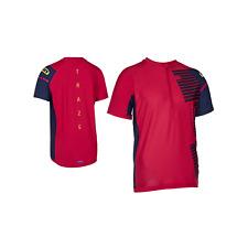 ION Tee Half Zip SS Helio Men - crimson red