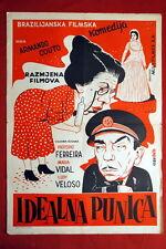 A SOGRA BRAZILIAN MARIA VIDAL 1954 PROCOPIO FERREIRA UNIQUE EXYU MOVIE POSTER