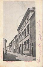 RADICONDOLI - via Cavour 1903