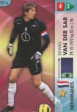 N°010 EDWIN VAN DER SAR NETHERLANDS TRADING CARDS PANINI WORLD CUP 2006