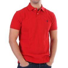 Ralph Lauren Camiseta Polo - Básico Polo - ROJO