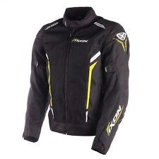 Ixon Motorcycle Cooler Summer Vented Textile Sport Jacket Black Yellow WCE Bike