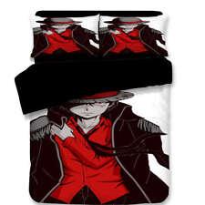 Anime Dressed Chivalrous 3D Digital Print Bedding Duvet Quilt Cover Pillowcase
