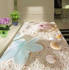 3D Plage 93 Fond d'écran étage Peint en Autocollant Murale Plafond Chambre Art