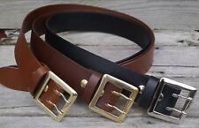 Mens Jeans Belt 2 inch wide fullgrain leather, Australian made