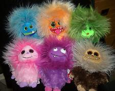 W-F-L TY  Frizzy Auswahl von Frizzys mit glubschi Augen 15 cm Aliens