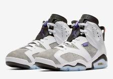 "AIR JORDAN 6 RETRO LTR ""FLINT"" CI3125-100 White Dark Concord Black Men's Sneaker"