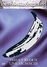 Velvet Underground LIVE 1993 Redux/ MCMXCIII (DVD,/LOU REED DEAD AT 71/SEALED