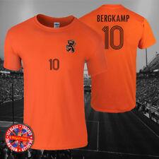 Dennis Bergkamp Holland Inspired Football T-shirt, Men's, Ladies, Kids