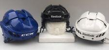 NEW Reebok 11K VN Pro Stock Hockey Helmet WHITE / ROYAL BLUE / BLACK 5000