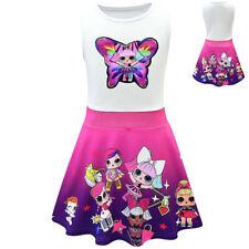 Kinder Mädchen Puppe Cosplay Prinzessin Kleider Party Geburtstagsgeschenk Kleid