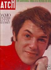 1966 paris match n°925  ADAMO-MARILYN MONROE-DISNEY
