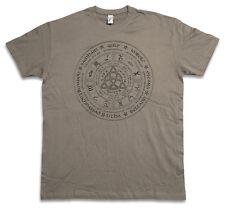 WHEEL OF THE YEAR CTHULHU T-SHIRT  Lovecraft Arkham Horror Wars Miskatonic Shirt