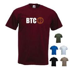 """""""BTC"""" - Bitcoin LOGO. P2P DIGITAL divisa / miniera / Satoshi T-SHIRT TEE"""