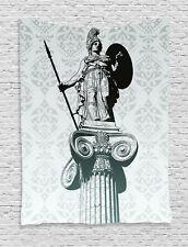 Black Tapestry Ancient Greek Mythology Print Wall Hanging Decor