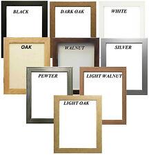 Cadre Photo Affiche Cadre photo effet bois différentes tailles et couleurs disponibles