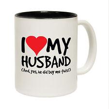 Funny Mug Noël anniversaire cadeau amour-Mari Oui acheter cet