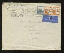 La Palestina 1939 NOV Airmail... medico... Jaffa slogan MACCHINA Annulla