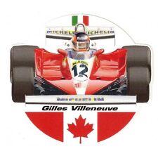 Gilles VILLENEUVE  Sticker