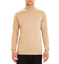 Guide London Roll Neck Knitwear KW2578 Men's Jumper Cotton Camel
