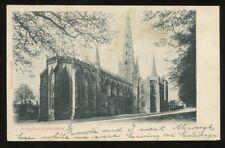 Staffs LICHFIELD Cathedral 1903 PPC