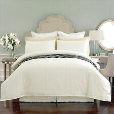 New 100% cotton 300TC Plain Off White Colour Quilt Doona Duvet Linen Cover Set